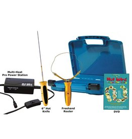 """Hot Wire Foam Factory K44P6 Pro 2-in-1 Kit (Freehand Router & 6"""" Hotknife)"""