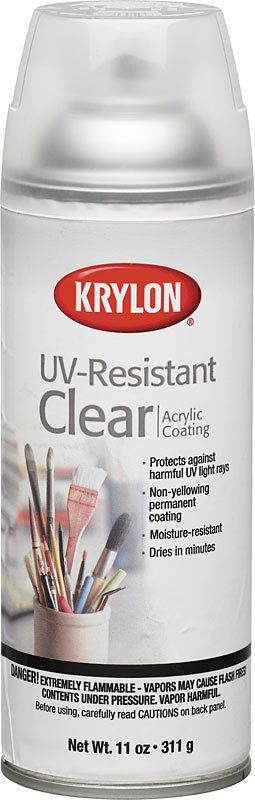 Krylon Krylon Clear Gloss UV-Resistant 12oz Spray Can 1305