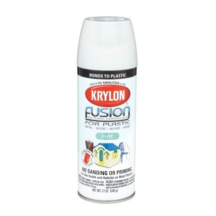 Krylon Krylon Fusion Flat White 12oz Spray Can 2518