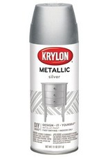 Krylon Metallic Silver 12oz Spray Can 1406