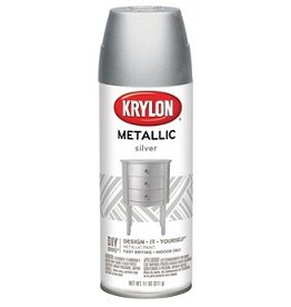 Krylon Krylon Metallic Silver 12oz Spray Can 1406
