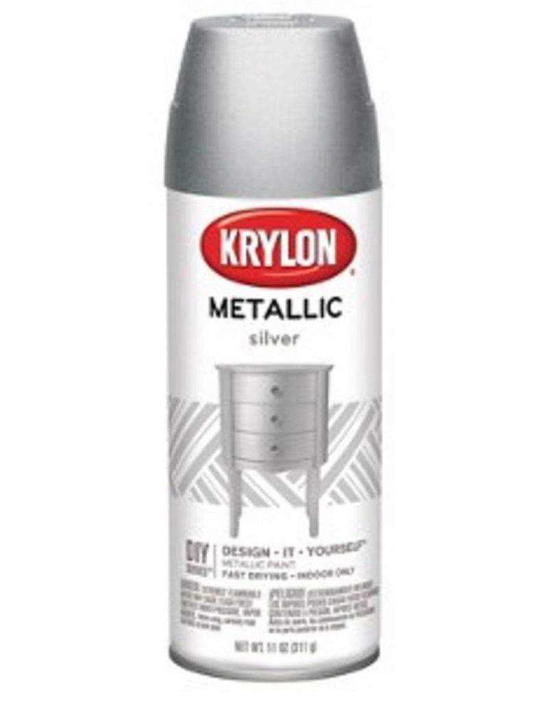Krylon Krylon Metallic Silver 12oz Spray Can 1406