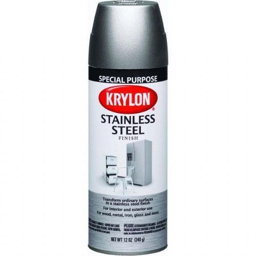 Krylon Krylon Stainless Steel 12oz Spray Can 2400