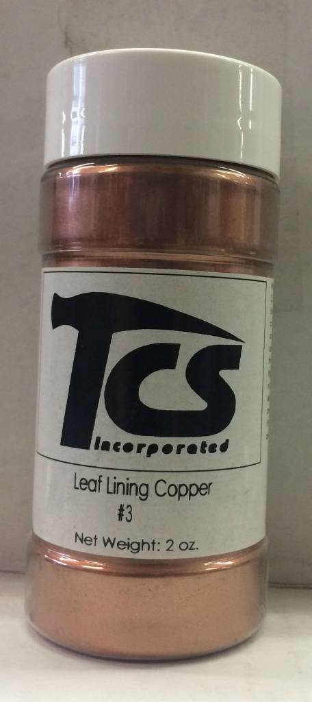 #3 Leaf Lining Copper Mica 2oz