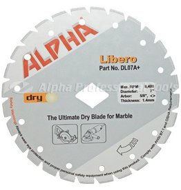 Alpha Alpha Libero Diamond Blade  7