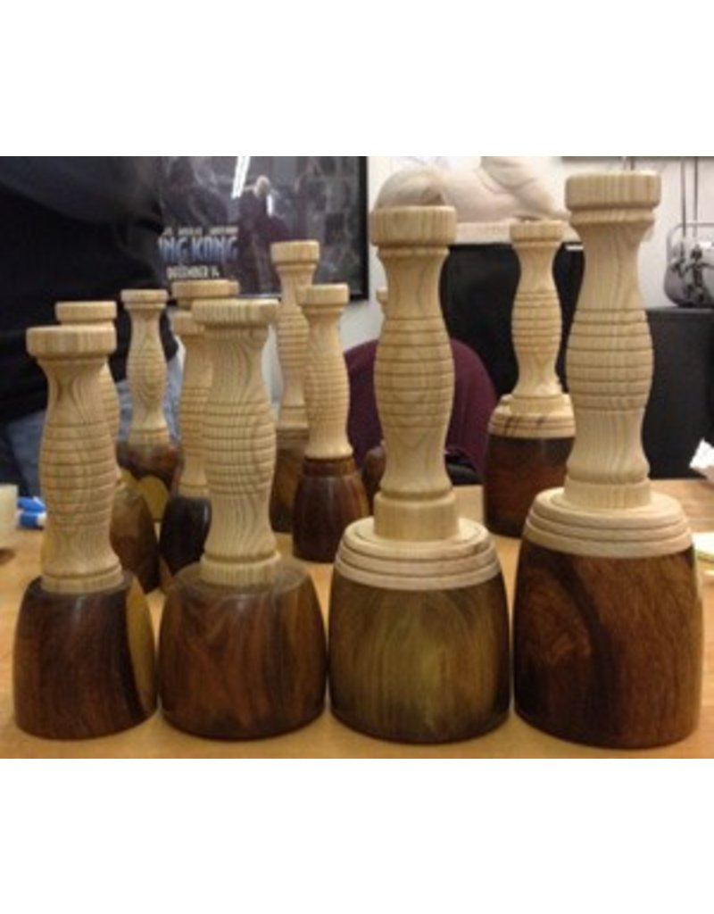 Just Sculpt Lignum Vitae Mallet Extra Large (2.05lb)
