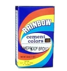 Limeproof Brown 1lb Rainbow Cement Pigment