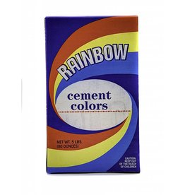 Limeproof Red 1lb Rainbow Cement Pigment