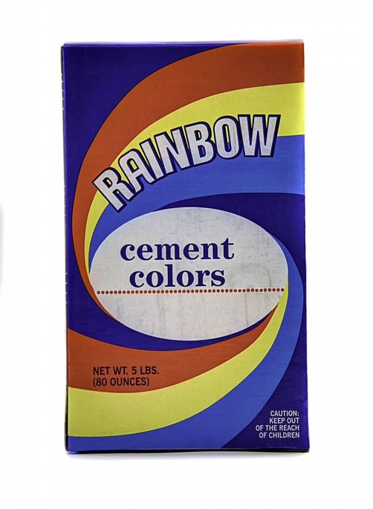 Limeproof Yellow 1lb Rainbow Cement Pigment