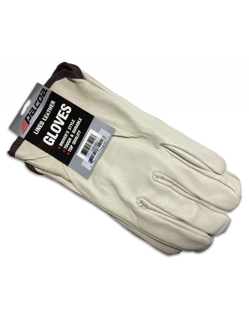Just Sculpt Lined Leather Gloves
