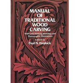 Dover Publications Manual of Traditional Wood Carving Book