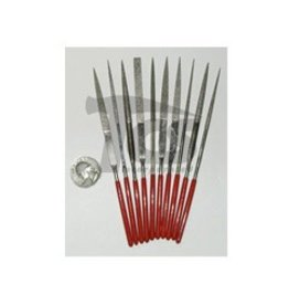 Just Sculpt Medium Diamond Needle File Set Fine 10pc