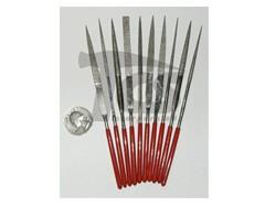 Medium Diamond Needle File Set Fine 10pc