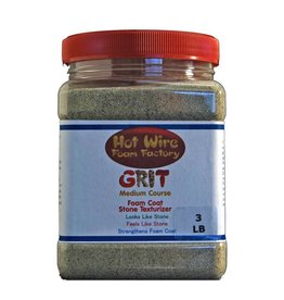 Hot Wire Foam Factory Medium Grit 3lb Foam Coat Additive
