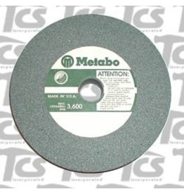 "Metabo Green Wheel 6""x1"" 80 Grit Metabo Silicone Carbide"