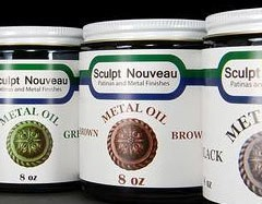 Sculpt Nouveau Metal Oil Brown 8oz