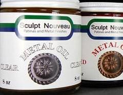 Sculpt Nouveau Metal Oil Clear Gallon