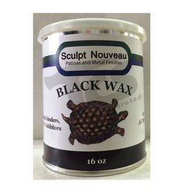 Sculpt Nouveau Metal Wax Black 16oz