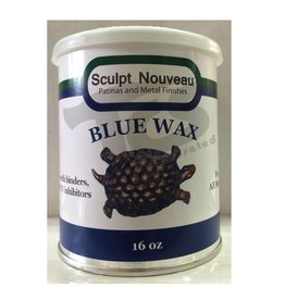 Sculpt Nouveau Metal Wax Blue 16oz