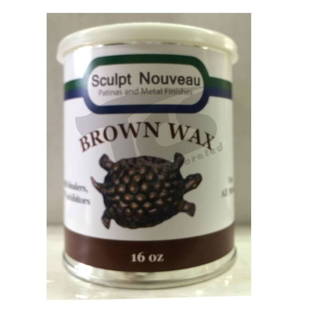 Sculpt Nouveau Metal Wax Brown 16oz