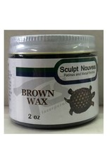 Sculpt Nouveau Metal Wax Brown 2oz