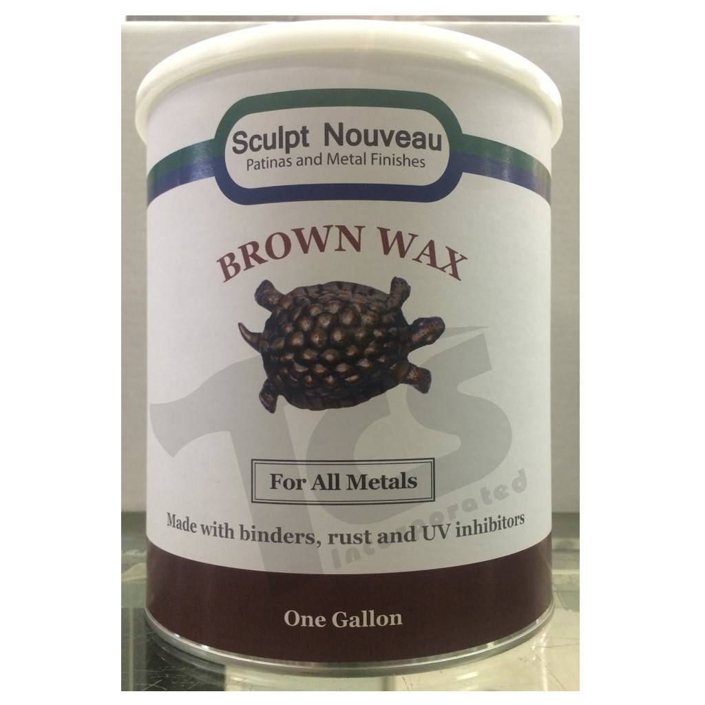 Sculpt Nouveau Metal Wax Brown Gallon