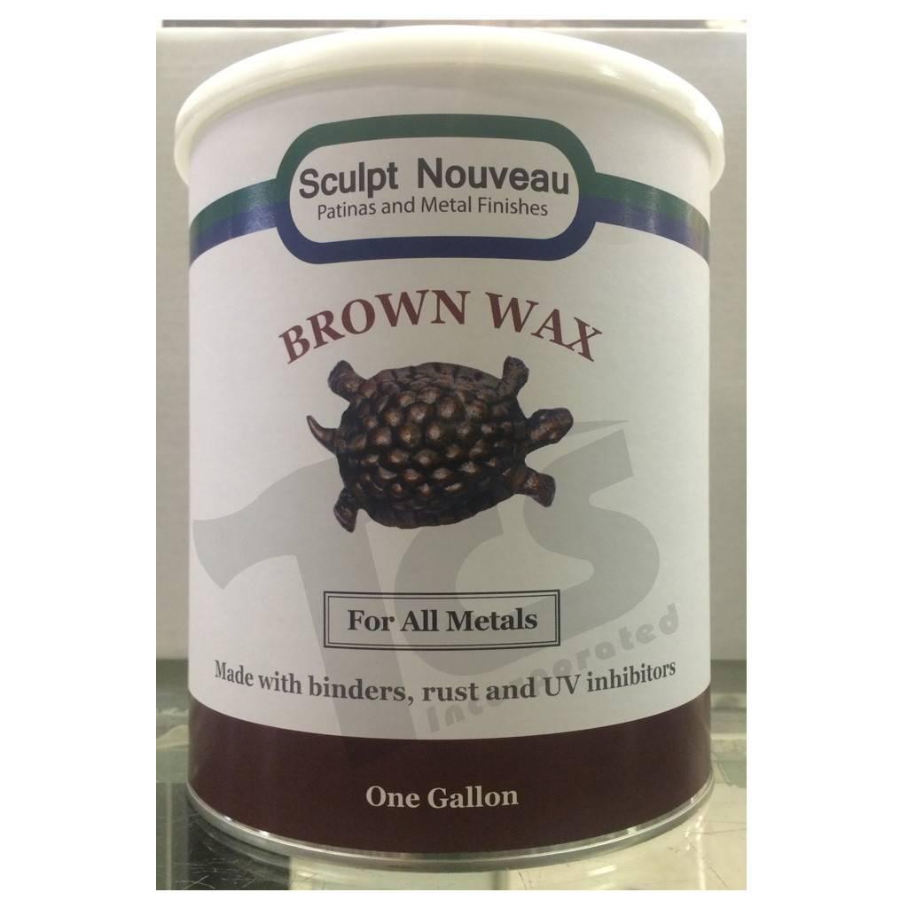 Sculpt Nouveau Metal Wax Brown Gallon