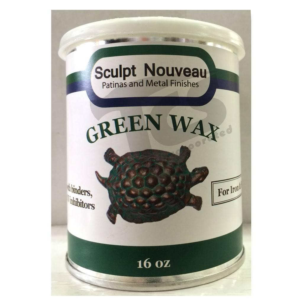 Sculpt Nouveau Metal Wax Green 16oz