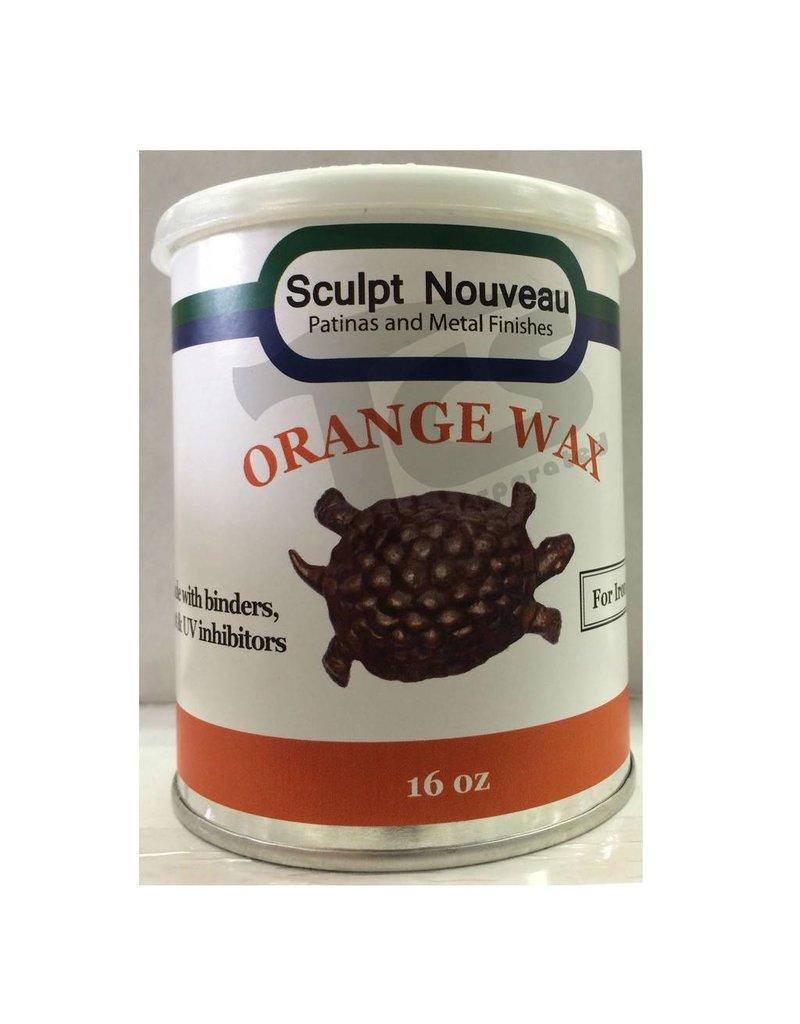 Sculpt Nouveau Metal Wax Orange 16oz