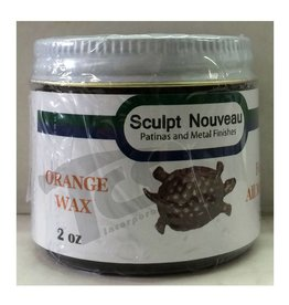 Sculpt Nouveau Metal Wax Orange 2oz