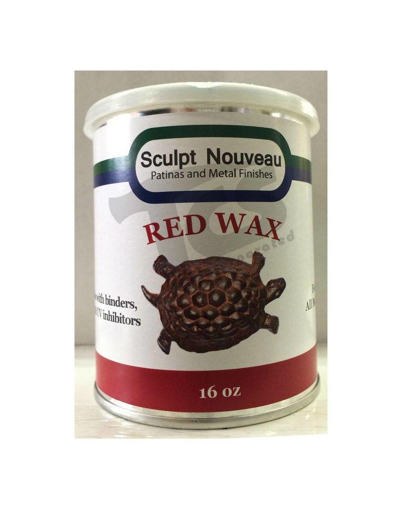 Sculpt Nouveau Metal Wax Red 16oz