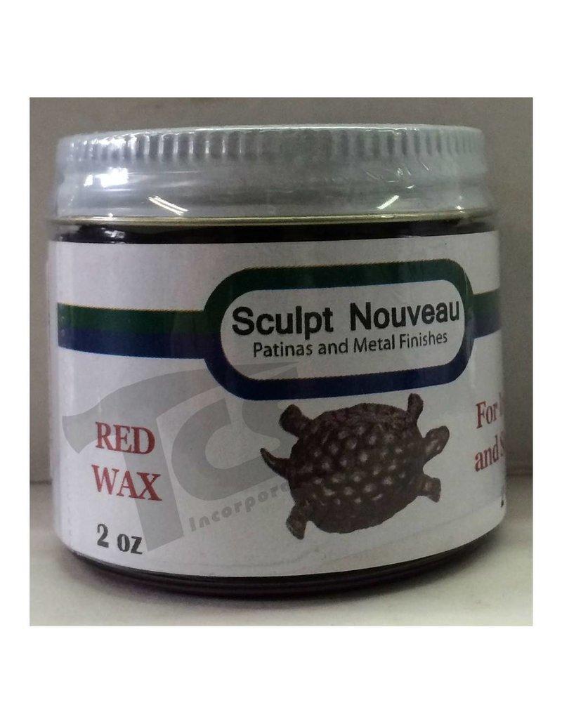 Sculpt Nouveau Metal Wax Red 2oz