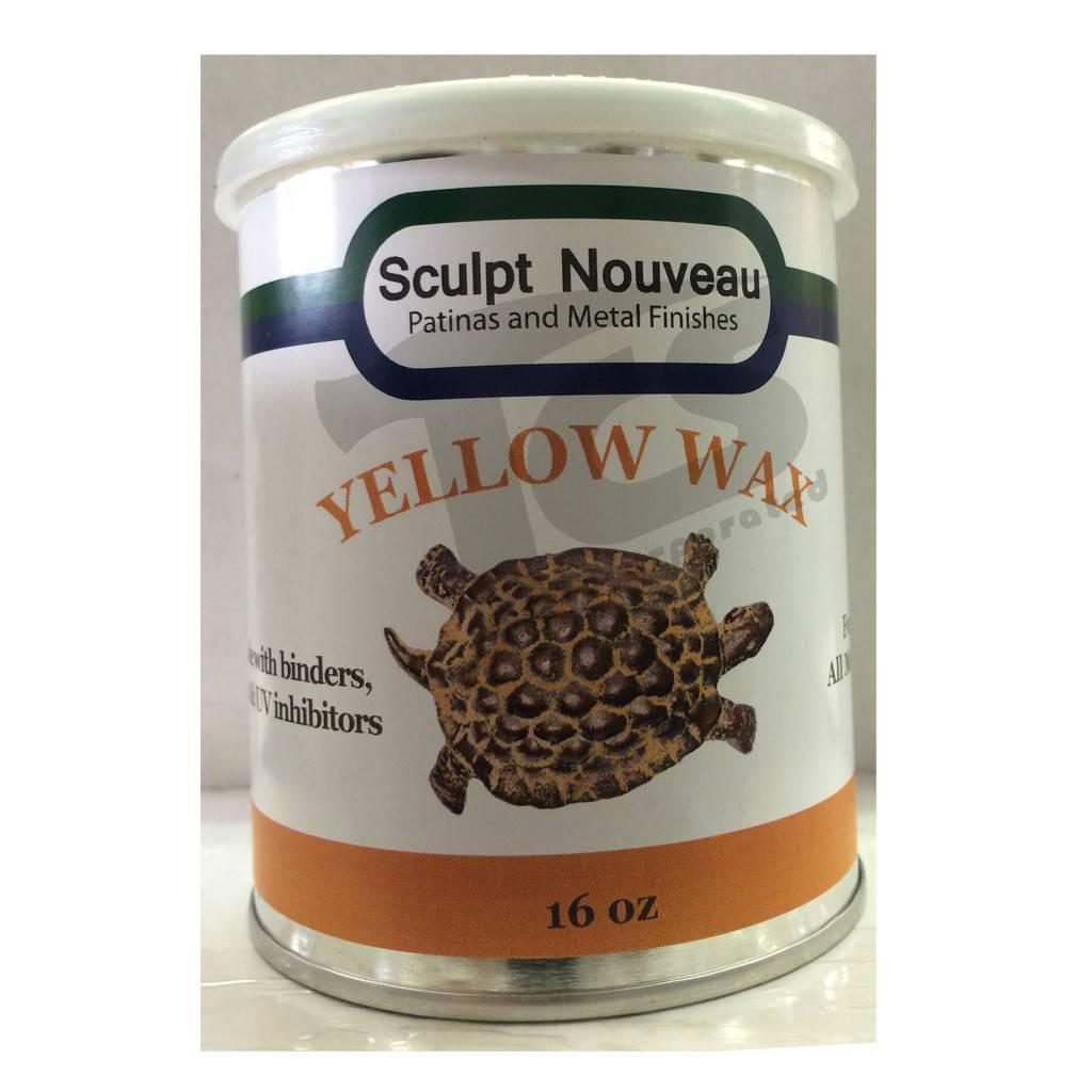 Sculpt Nouveau Metal Wax Yellow 16oz