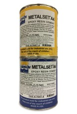Smooth-On Metalset A4 Quart Kit Aluminum Filled Epoxy Adhesive