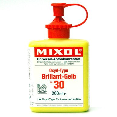 Mixol Mixol #30 Brilliant Yellow 200ml