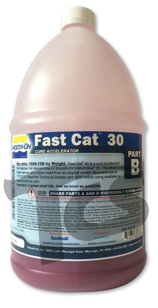 Smooth-On Mold Max 30 Fast Cat 1/2 Gallon