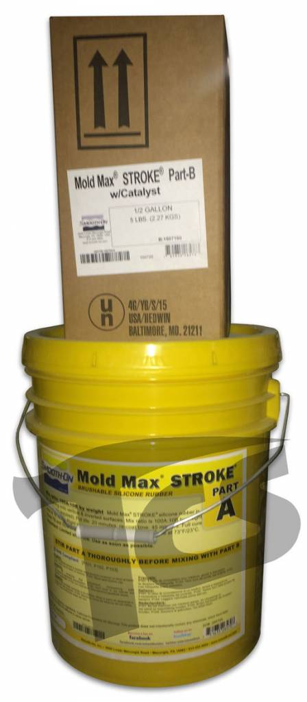 Smooth-On Mold Max Stroke 5 Gallon Kit Special Order