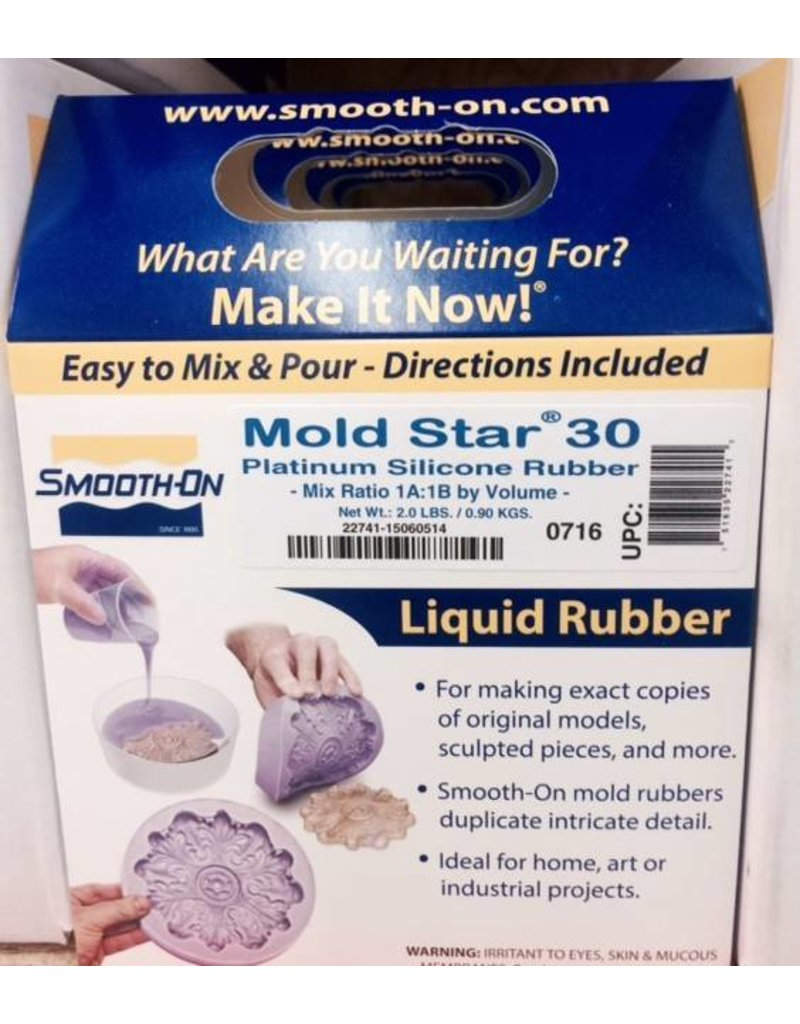 Smooth-On Mold Star 30 Trial Kit