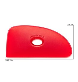 Mudtools Mudtool Red #4 Rib