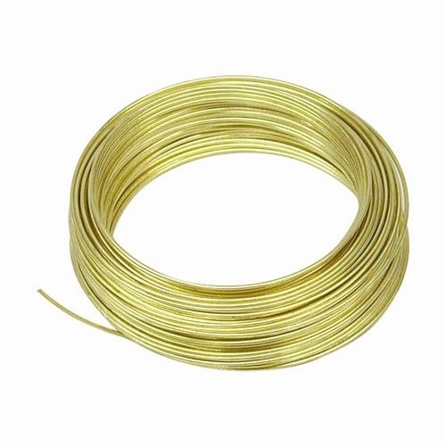 OOK OOK Brass Wire 20 Gauge 50'