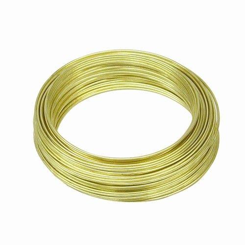 OOK OOK Brass Wire 22 Gauge 75'