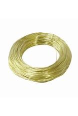 OOK OOK Brass Wire 24 Gauge 100'