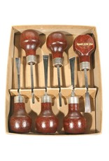 U.J. Ramelson Palm Mini Chisel Set #117R
