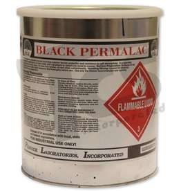 Permalac Permalac Satin Black Transparent Gallon