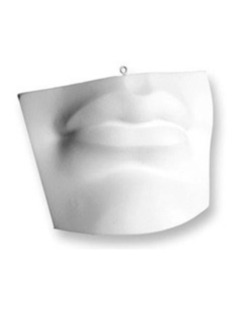 Just Sculpt Plaster Mouth Of David