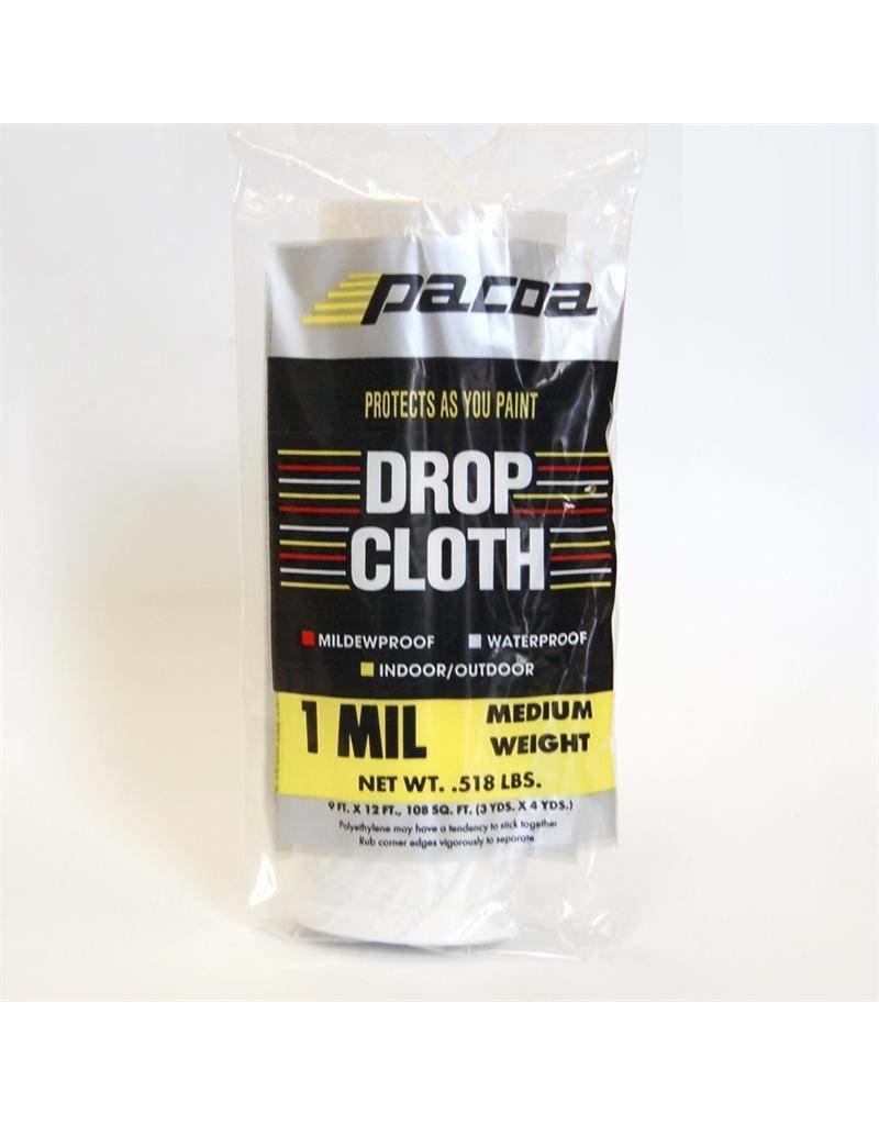 Just Sculpt Plastic Drop Cloth 1Mil 10'x20'
