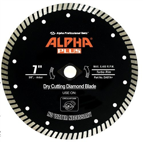 Alpha Plus Diamond Blade 9in