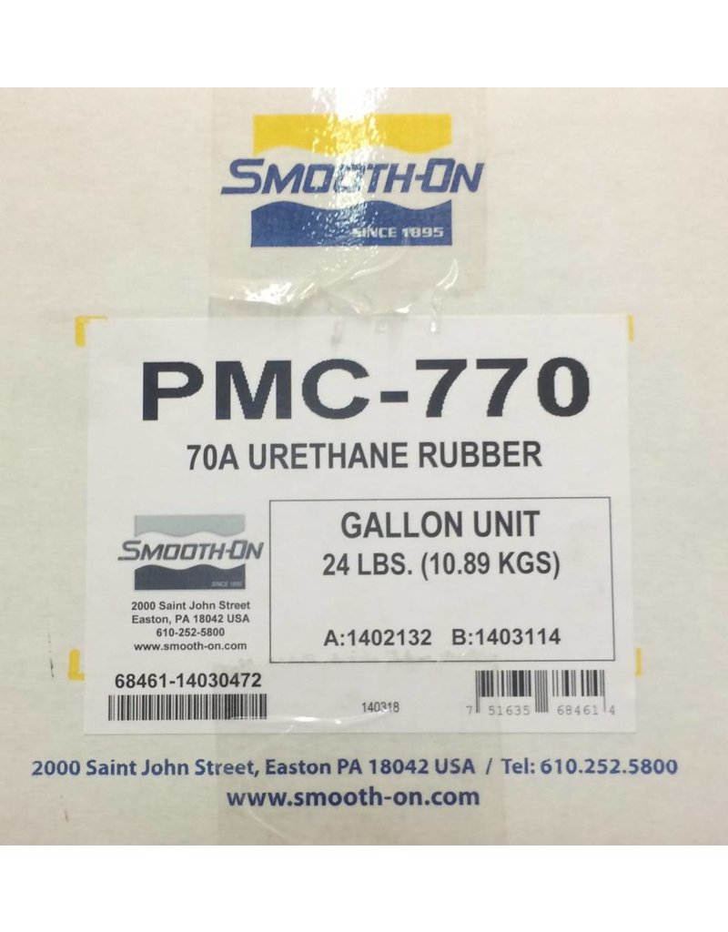 Smooth-On PMC 770 3 Gallon Kit