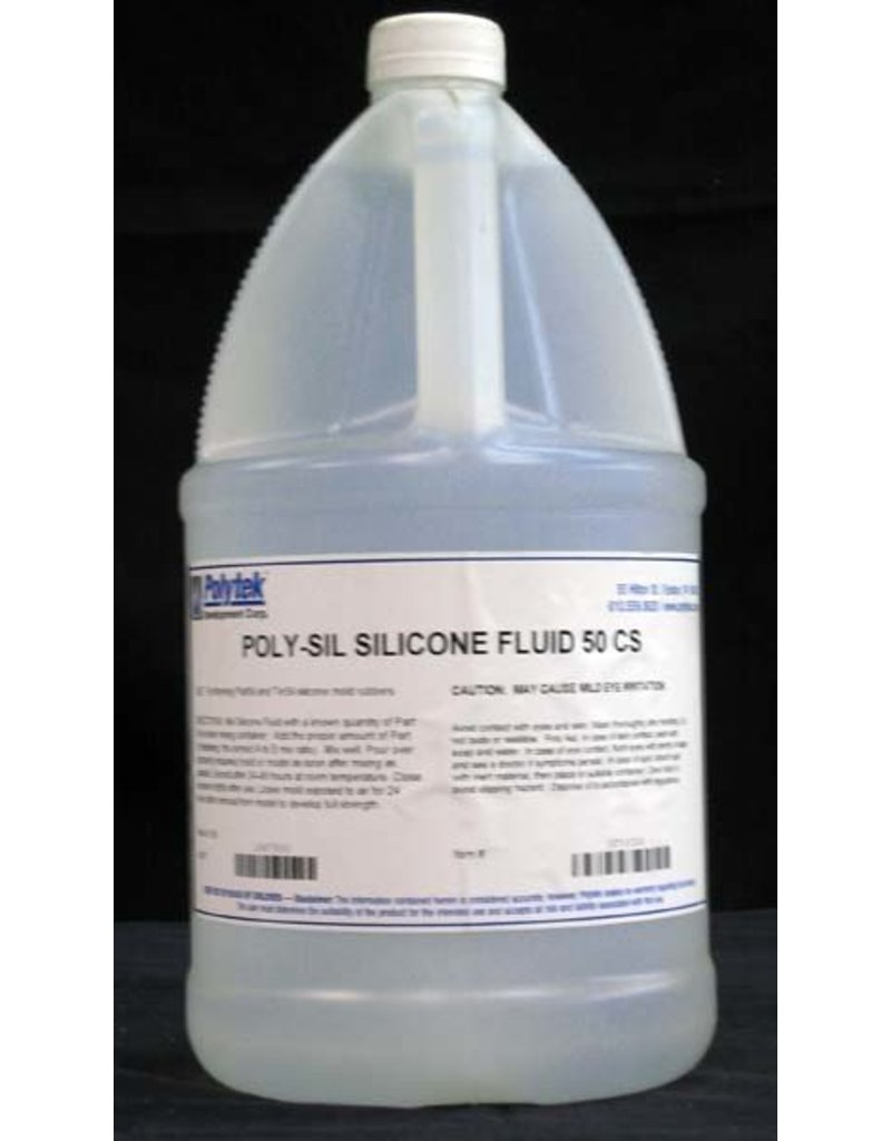 Polytek Poly-Sil Silicone Thinner Fluid Gallon 50cps