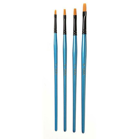 Premium Flat Brush Set #2,4,6,8